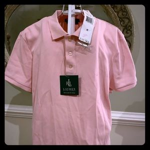 NWT Slim Fit- Pink Ralph Lauren Polo